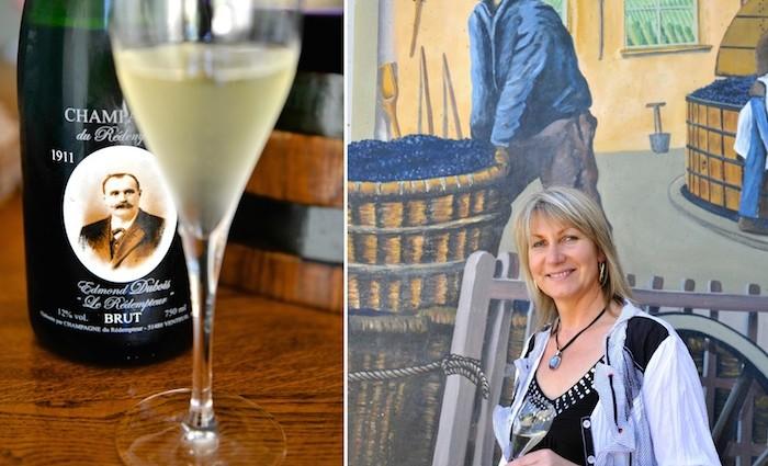 Claudy Dubois und der Champagner du Rédempteur