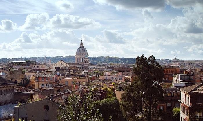 Casa Fabbrini in Rom. 4-Zimmer-Hotel