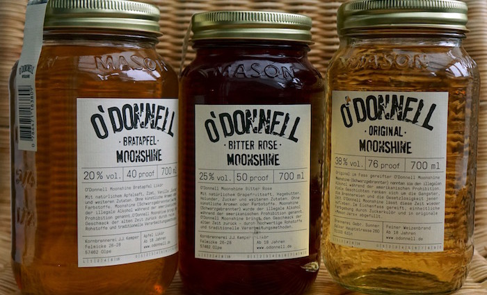 O donnell moonshine