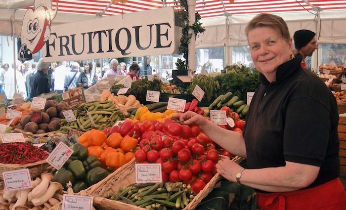 Fruitique: Gemüse vom Viktualienmarkt
