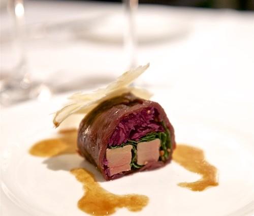 Fois gras im Mantel