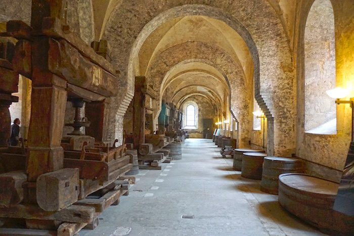 Kloster Eberbach, Weinkeller der Name der Rose
