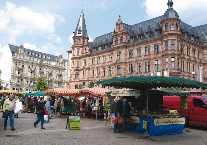Wiesbaden Wochenmarkt