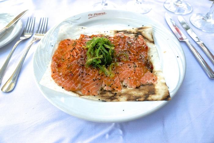 Es Pinaret Ses Salines, Restaurant Mallorca