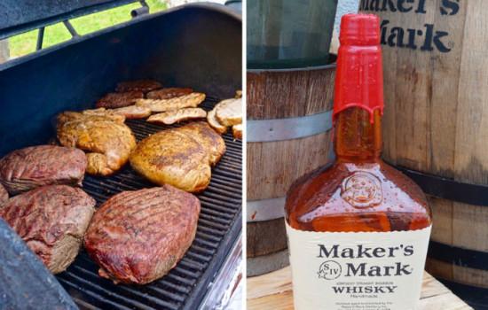 Grillen mit Whisky. Maker's Mark BBQ Sauce, Chutney und Marinade