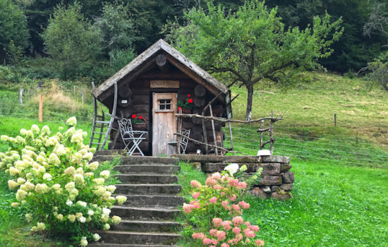 Bergdorf Bader Alm im Schwarzwald