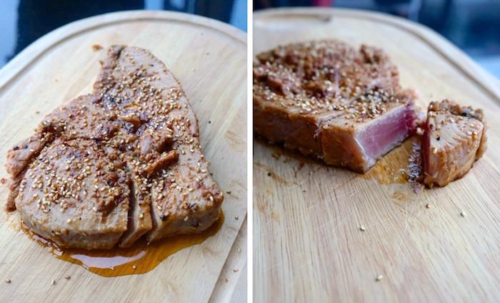 Gomasio, Gomashio. A perfect tuna topping