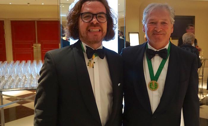 Foodhunter ist Chevalier im Ordre des Coteaux de Champagne