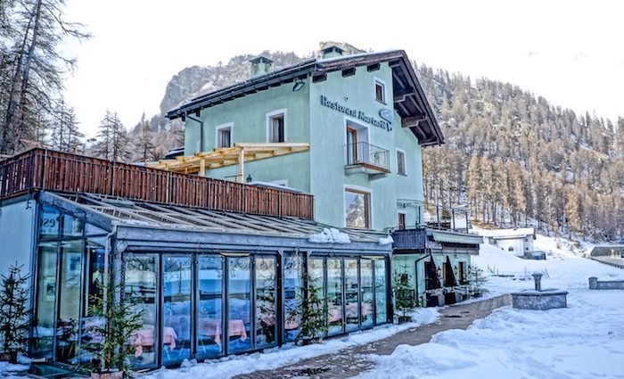 Restaurant Murtaröl - the flop fish of St. Moritz?