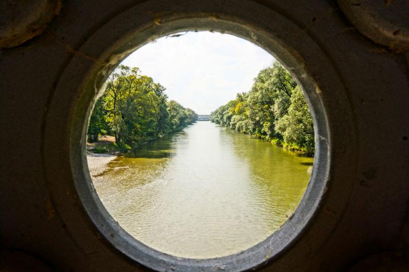 Englischer Garten – Holzbrücke