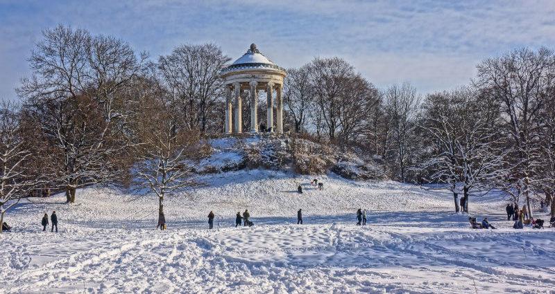 Englischer Garten Winter