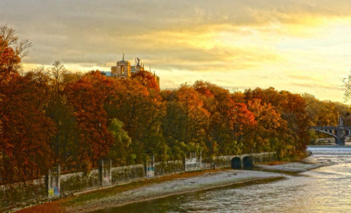 Herbst Isar
