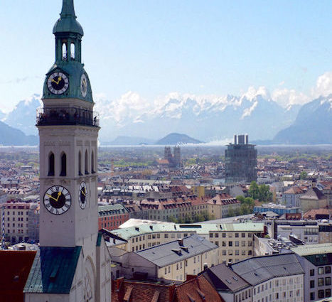 München von oben, Alter Peter