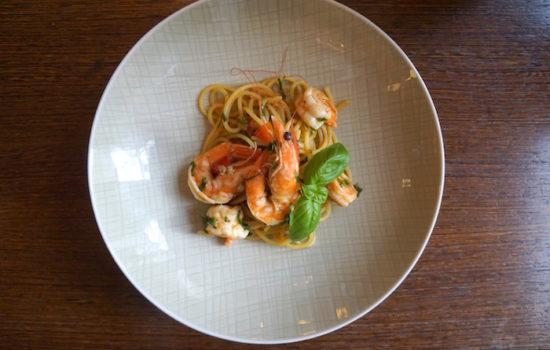 Pasta mit Good Gamba Garnelen