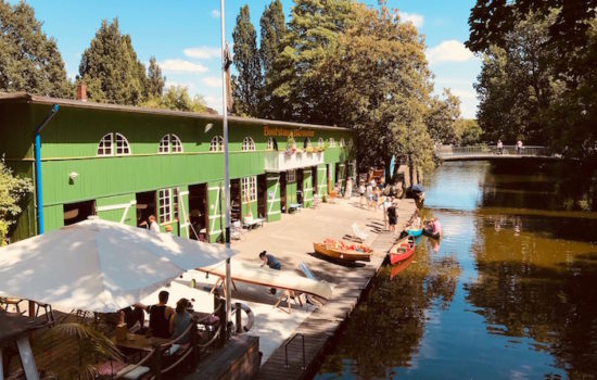 Bootshaus Barmeier - Kuchen statt Kanu