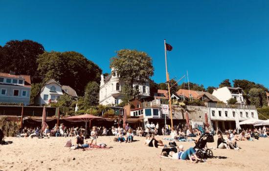 Övelgönne und die Strandperle
