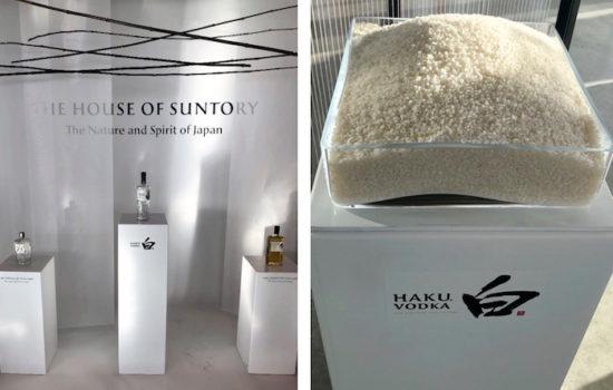 Beam Suntory und der Haku Vodka aus 100 % Reis