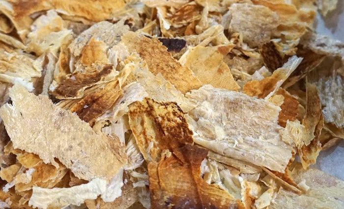 Krosse Milchhaut Chips