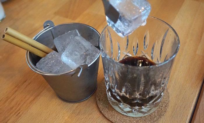 Vietnamesischer Kaffee. Vorbild des Cold Brew