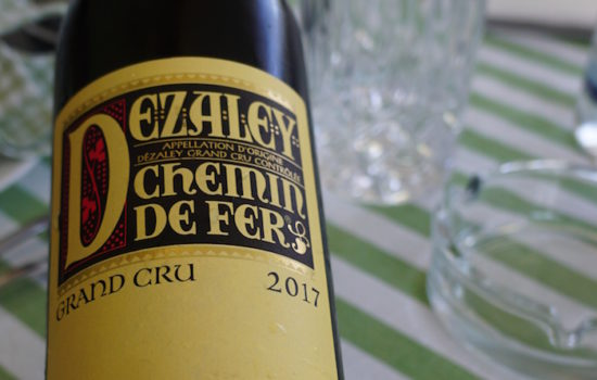 Dézaley Chemin de Fer - Höhepunkt der Chasselas-Traube