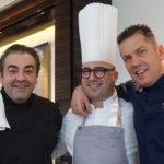 "Dinner im ""Pavillon"": Chefkoch Laurent Eperon mit Juan Amador und Jacob Jan Boerma"