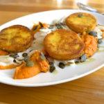 Vegetarisch raffiniert: Rosmarin-Thymian-Polenta-Taler