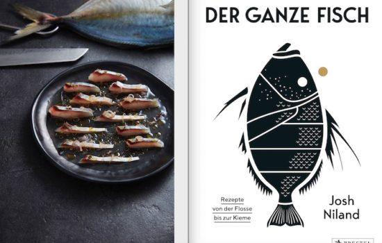 """Fischkopf, Rilettes, Schwanzkotelett – Kochbuch """"Der ganze  Fisch"""""""
