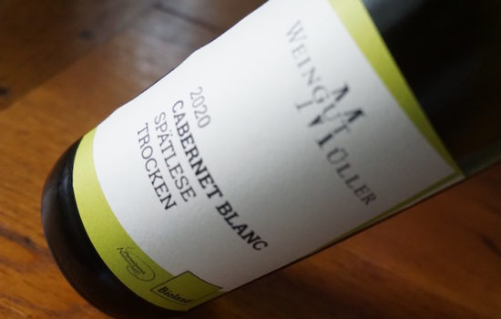 Glückliche Begegnung: Cabernet Blanc und das Weingut Müller