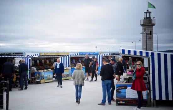 Da muss ich hin! Austernmarkt in Cancale, Bretagne