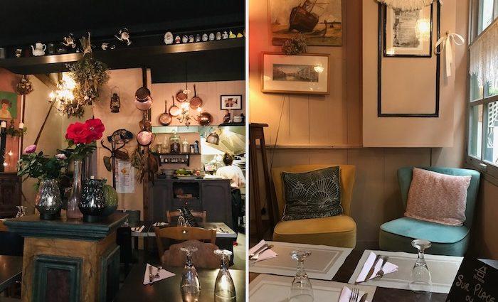 Bar Bistro Chez Maman in Honfleur, Normandie